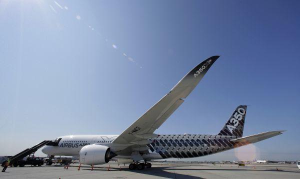 Airbus exhibe su nuevo avión A350 WXB a las compañías aéreas en Estados Unidos - Noticias de airbus
