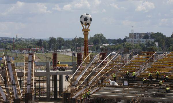 Rusia construye nuevo estadio en Saransk para Mundial de Fútbol 2018 - Noticias de rusia 2018