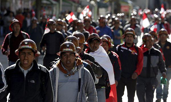 Minera Manquiri de Bolivia podría cerrar por huelga en Potosí - Noticias de huelga