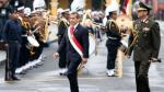 Presidente Ollanta Humala llega a la Catedral de Lima para participar en Misa y Te Deum - Noticias de salon dorado
