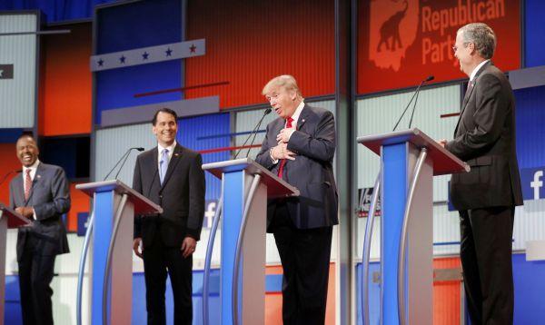 Trump acapara atención en primer debate de aspirantes republicanos a presidencia de EE.UU. - Noticias de rand paul