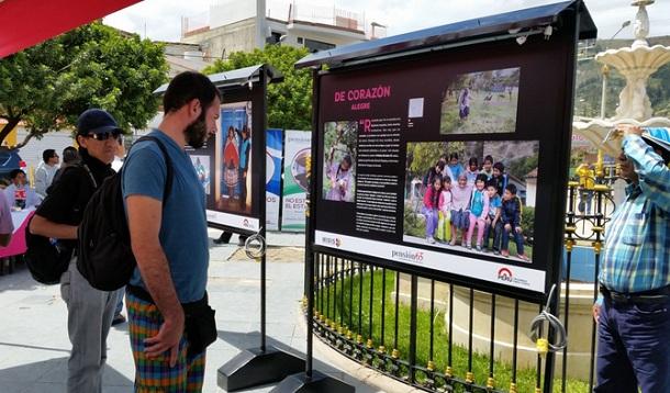 Inauguran muestra fotográfica sobre la vida de beneficiarios de Pensión 65 - Noticias de felipe pinglo alva