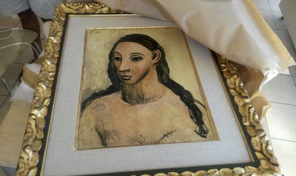 Picasso de US$ 27.4 millones regresa a España tras ser recuperada en Córsega - Noticias de emilio botin