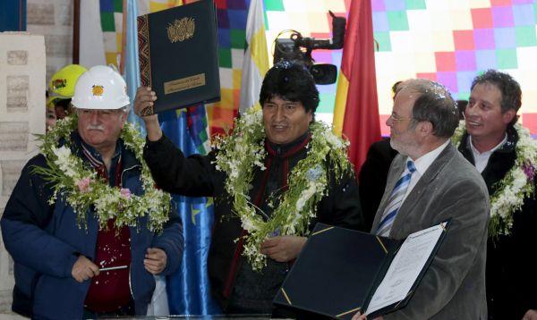 Bolivia contrata a empresa K-UTEC para diseñar Planta Industrial de Carbonato de Litio - Noticias de carbonato de litio