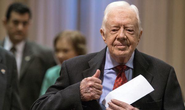 Jimmy Carter informa que tiene cáncer en hígado y cerebro - Noticias de jimmy carter