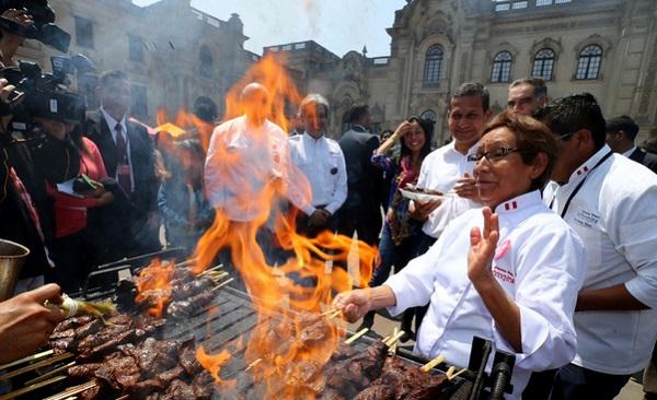 Palacio de Gobierno celebra feria gastronómica previa a Mistura 2015 - Noticias de gastronomia