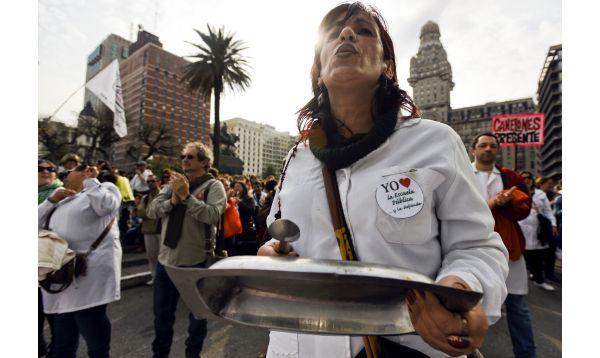 Uruguay: profesores llevan dos semanas en huelga - Noticias de huelga de docentes