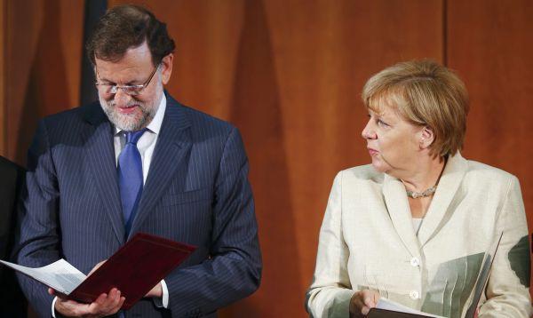 Merkel: España está contribuyendo a que Europa salga de la crisis - Noticias de reforma laboral