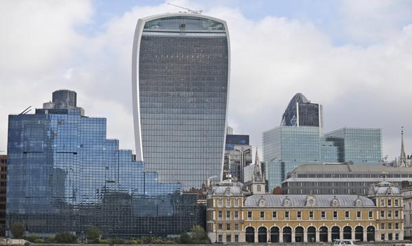 Un rascacielos de Londres gana el premio al edificio más feo del Reino Unido - Noticias de rafael vinoly
