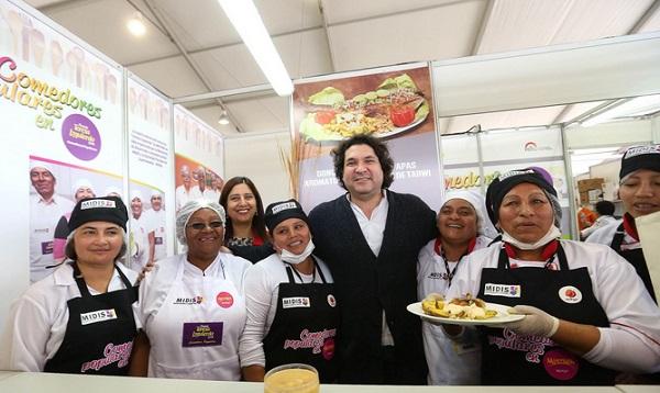 Mistura: Gastón Acurio destaca platos de los comedores populares - Noticias de tarwi