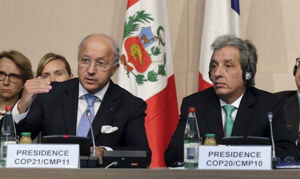 Perú y Francia participan en reunión ministerial de preparación para la cumbre COP21 - Noticias de laurent fabius