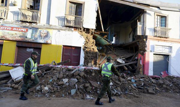 Fuerte terremoto y tsunami en Chile dejan al menos 8 muertos - Noticias de desastres naturales