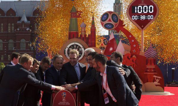 Rusia inicia cuenta regresiva para Mundial 2018 - Noticias de jerome valcke