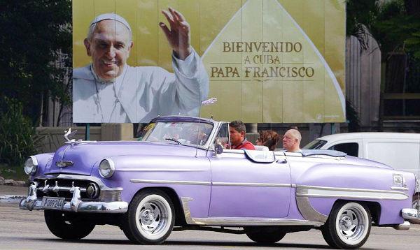 Cuba expectante recibe la tercera visita de un Papa - Noticias de benedicto xvi