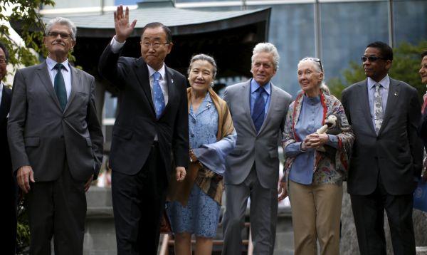 La ONU conmemoró el Día Internacional de la Paz en su sede de Nueva York - Noticias de jane goodall