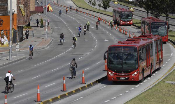 Bogotá amanece con otro Día sin Carro - Noticias de petro