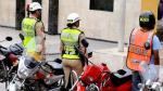 Conductores y pasajeros de motocicletas deberán llevar distintivos de seguridad - Noticias de accidente de transito