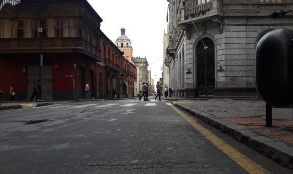 """Así luce el Centro Histórico de Lima celebrando """"un día sin carros"""" - Noticias de centro cultural deportivo lima"""