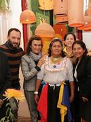 Casacor 2015. Expone artesanía de decoración de tres regiones del Perú