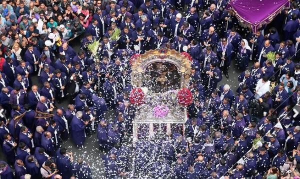 Transmitirán online procesión completa del Señor de los Milagros - Noticias de senor de los milagros