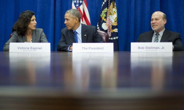 Presidente Obama se reúne con empresarios de EE.UU. para explicar alcances del TPP - Noticias de victoria espinel