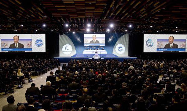 Se realizó sesión Plenaria de Reuniones Anuales del FMI y el GBM en Centro de Convenciones de Lima - Noticias de record