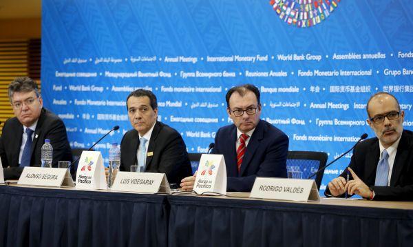 Ministros de Finanzas de la Alianza del Pacífico sesionaron en el marco de las reuniones del GBM y el FMI - Noticias de fmi