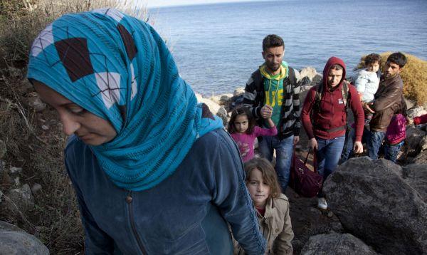 Grecia es el principal punto de entrada de refugiados sirios que huyen de la guerra - Noticias de pobreza