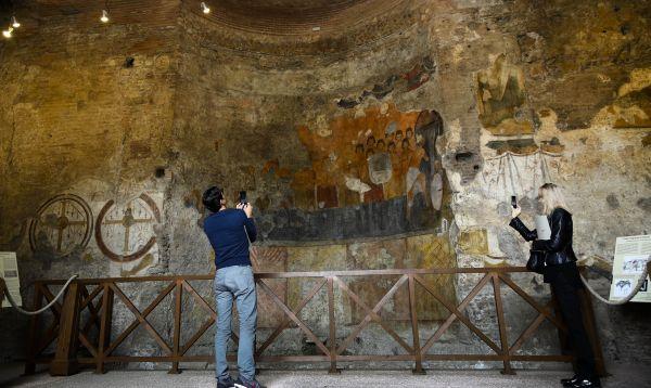 Restauran rampa entre el Foro Romano y el Palacio Imperial - Noticias de foro romano