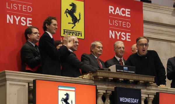 Ferrari entra a toda máquina a la Bolsa de Valores - Noticias de alfa romeo