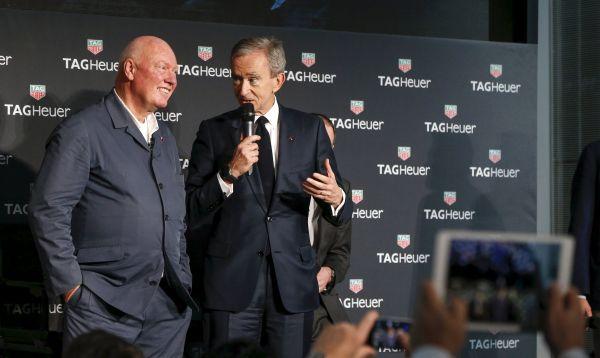 Tag Heuer es el primer fabricante suizo de relojes en lanzar al mercado relojes inteligentes - Noticias de bernard arnault