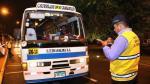 Indecopi y MML fiscalizan que transporte urbano cumpla con cobrar pasaje universitario - Noticias de gsf