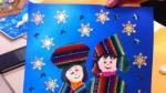Arte de niños y niñas del Perú se plasmarán en tarjetas navideñas de Unicef - Noticias de collage