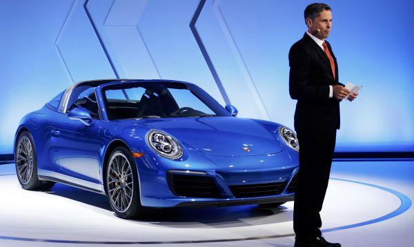 Nuevo Porsche 911 Targa 4S fue presentado en Los Ángeles Auto Show - Noticias de autos nuevos