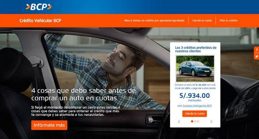 Como comprar un auto a credito peru