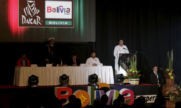 Rally Dakar 2016 que pasará por Bolivia y Argentina fue presentado en La Paz - Noticias de marc coma