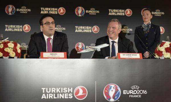 Turkish Airlines será patrocinador de la Eurocopa-2016 - Noticias de marketing