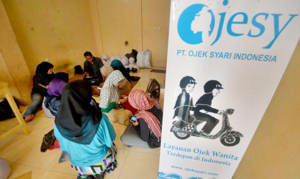 Mototaxis para mujeres musulmanas son un negocio en auge en Indonesia - Noticias de motocicleta