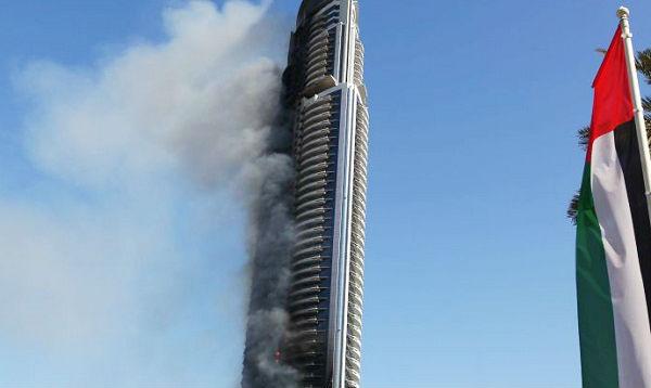 Dubái: hotel incendiado será reconstruido - Noticias de origen