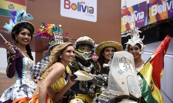 Bolivia vive la fiesta del Rally Dakar 2016 y aprovecha para promover su turismo en el salar de Uyuni - Noticias de fenómeno el niño
