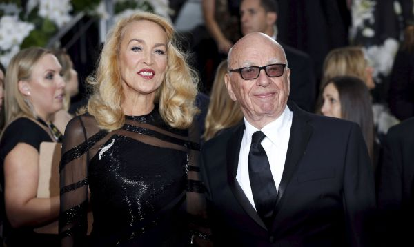 Magnate de los medios Rupert Murdoch se casará con la actriz Jerry Hall - Noticias de jerry hall