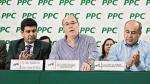 Javier Bedoya queda excluido de la lista de precandidatos del PPC - Noticias de alberto valenzuela