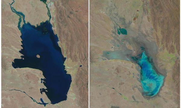 El lago de los Andes que se ha transformado en desierto - Noticias de usgs