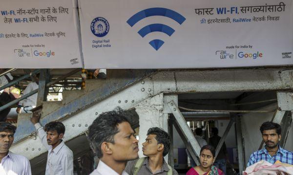 Google ofrece Wi-Fi gratis en estación de tren de Mumbai - Noticias de proyectos tecnológicos