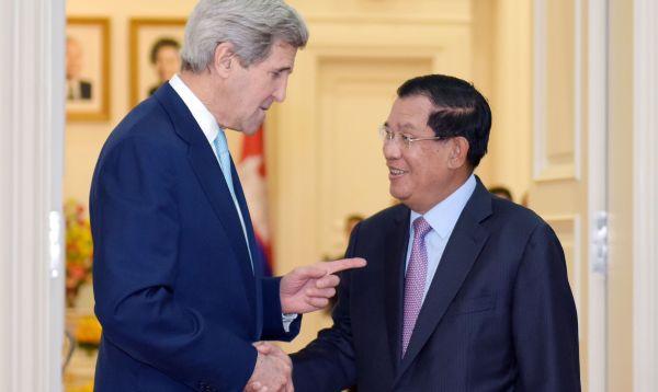 Kerry se reúne con primer ministro de Camboya para hablar de DD.HH. y democracia - Noticias de desarrollo económico
