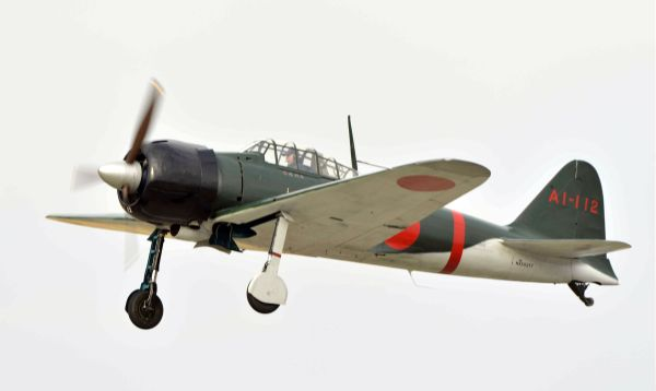 Japón: El avión Zero vuela por primera vez desde la guerra - Noticias de pearl harbor