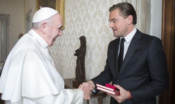Papa recibe a Leonardo DiCaprio para hablar de defensa del medioambiente - Noticias de origen