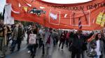 Huelga general y protestas en Grecia contra la reforma de jubilaciones - Noticias de austeridad en grecia