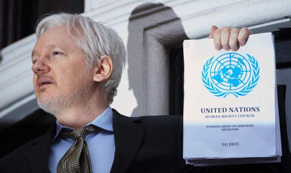 Julian Assange insta a Suecia y el Reino Unido aplicar conclusiones de grupo de Naciones Unidas - Noticias de julian assange
