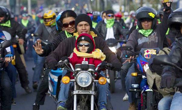 Guatemala: miles peregrinan en motocicleta para adorar al Cristo Negro - Noticias de motocicleta